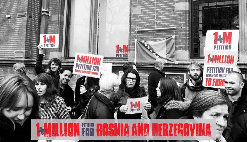 Milion potpisa za ulazak Bosne i Hercegovine u Europsku uniju